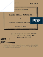 (1942) FM 24-5 Signal Communication