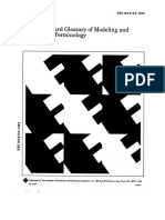 IEEE Standard Glossary of Modeling and Simulation Terminology