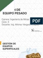 1.- Gestión de Equipo Pesado_Unidad II-I