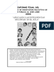 Informe Del Proyecto de Inteligencias Multiples 2004 Al Aire Libre