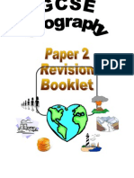 GCSE Geography Revision Guide Paper 2