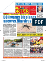 Bikol Reporter March 13 - 19, 2016 Issue