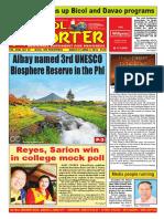 Bikol Reporter March 27 - April 2, 2016 Issue
