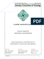 Industrial Electronics Manual