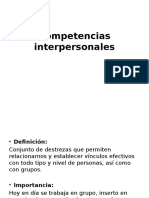 INTERPERSONALES