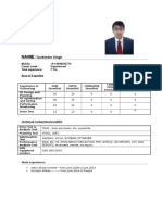CV Gurbinder Singh