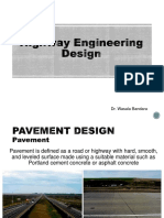 Highway Engineering Design_Pavement Design
