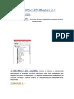 MANUAL ARMADURA ISOSTATICA EN HP PRIME