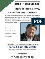 Conférence Tim Guénard