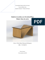 Relatório Modelos Estruturais, 2015