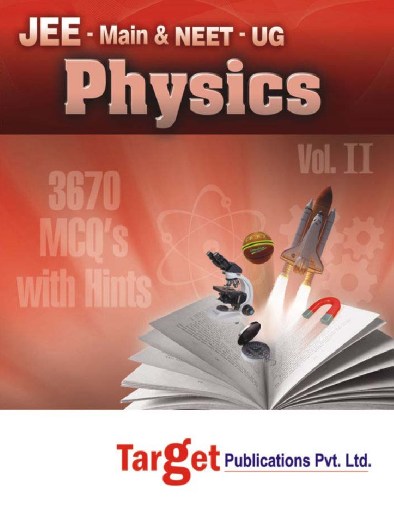 Current Electricity Target Publications Jee Main Physics II
