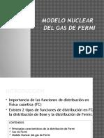 Modelo Gas de Fermi