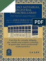 Flyer La Ley Derecho Notarial Libro 2012