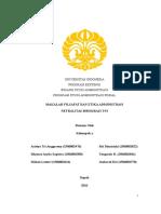 makalah netralitas birokrasi