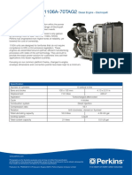 perkins engine data sheet