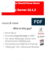 10 Things You Should Know About WebLogic 12.1.2