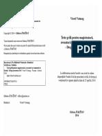Viorel Voineag Teste Grila Pentru Magistratura Avocatura Si Examenul de Licenta Drept Procesual Civil Editura Juritest 2014 PDF