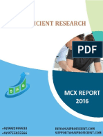 Mcx Commodity Report- Sai Proficient
