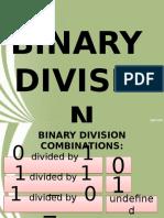 (15)Binary Division