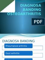 Diagnosa Banding Osteoarthritis