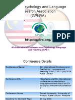 GPLRA- 4th ICPLT