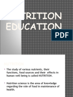 3 Nutrition Education