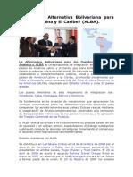 2343071 Que Es La Alternativa Bolivariana Para America Latina y El Caribe