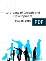 Overview of Growth and Development