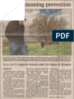 Farmers planning prevention, April 4, 2003