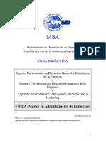 Guía MBA