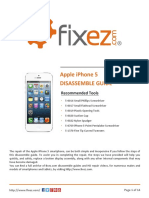 iPhone 5 Disassemble Guide