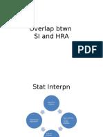 Statutory inter. VS HRA