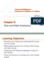 Text and Web Analytics
