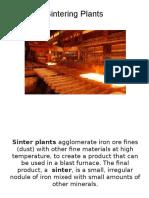 sinter plant