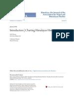 Charting Himalayan Histories