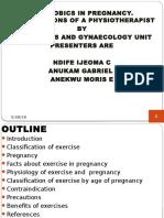 Aerobics in Pregnancy Main Presentation