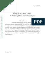 Perturbative Gauge Theory