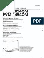 Sony Monitor Pvm 2054qm
