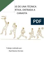 Análisis de Una Técnica Deportiva. Entrada a Canasta