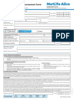Medical Claim Reimbursement Form English