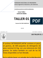 Taller six sigma