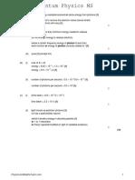 1.2 Quantum Physics MS
