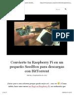 Server Rasberry Pi