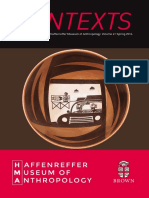 2016 Contexts - The Annual Report of the Haffenreffer Museum of Anthropology
