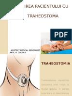 Îngrijirea Pacientului Cu Traheostoma