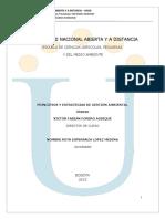 358020 Modulo Principios y Estrategias de Gestion Ambiental 2013