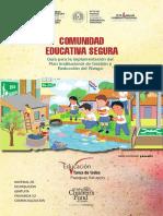 """Guía """"Comunidad Educativa Segura"""""""