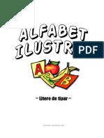 alfabet ilustrat colorat
