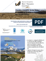 Adaptación Cambio Climático Andes Peruanos_sernampnov2013
