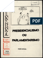 Parlamentarismo Presidencialismo